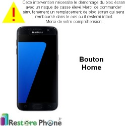 Reparation Nappe Bouton Home Galaxy S7