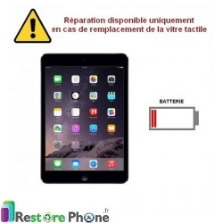 Reparation Batterie iPad Mini