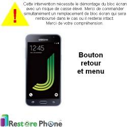 Reparation Nappe Bouton Retour & Menu Galaxy J3 2016