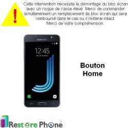 Reparation Bouton Home Galaxy J5 2016