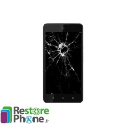 Reparation Vitre Tactile Wiko Rainbow lite 4G