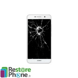 Reparation Bloc Ecran + chassis Huawei Y6 Pro