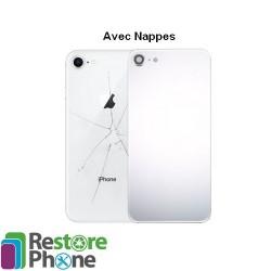 Coque Arrière Complète ( avec toutes les nappes ) Iphone 8