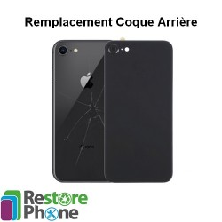 Reparation coque arriere iPhone 8