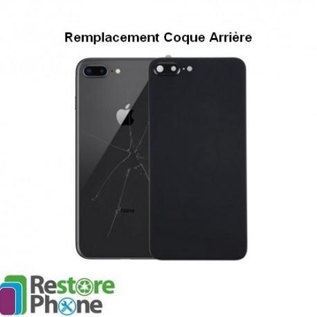 reparation coque arriere iphone 8 plus