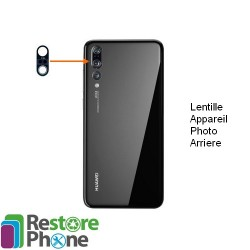Reparation Lentille Appareil Photo Arriere Huawei P20 Pro
