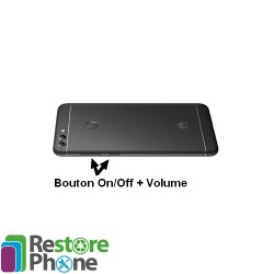 Reparation Nappe On/Off +Volume Huawei P Smart