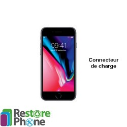 Reparation Connecteur de Charge + Micro iPhone 8
