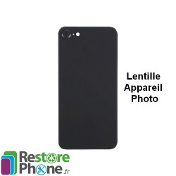 Reparation Lentille Appareil Photo Arriere iPhone 8