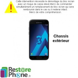 Reparation Chassis Exterieur Galaxy A3 2017