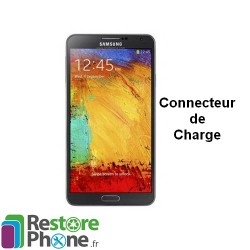 Reparation Connecteur de Charge + Micro Galaxy Note 3