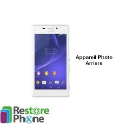 Reparation appareil photo arriere Xperia M2