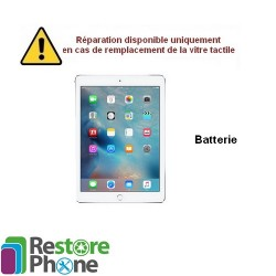 Reparation Batterie iPad Air/iPad 2017/iPad 2018
