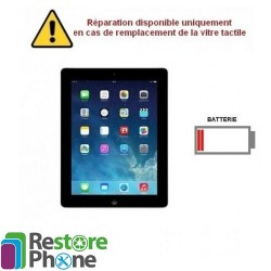 Reparation Batterie iPad 4