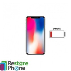 Reparation Batterie iPhone X