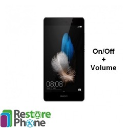 Reparation On/Off + Volume Huawei P8 Lite