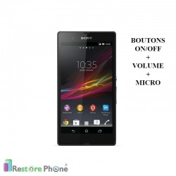 Réparations Boutons On/Off + Volume + Micro Xperia Z (L36H)