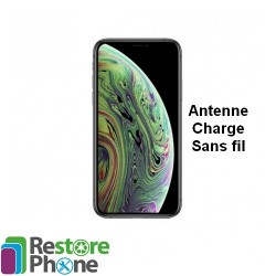 Reparation antenne charge sans fil iPhone XS