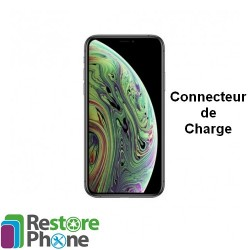 Reparation Connecteur de Charge + Micro iPhone XS Max