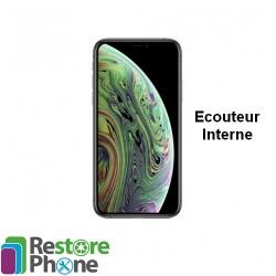 Reparation ecouteur interne iPhone XS Max