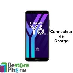 Reparation Connecteur de Charge Huawei Y6 2018