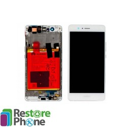 Bloc ecran chassis + batterie Huawei P9 Lite