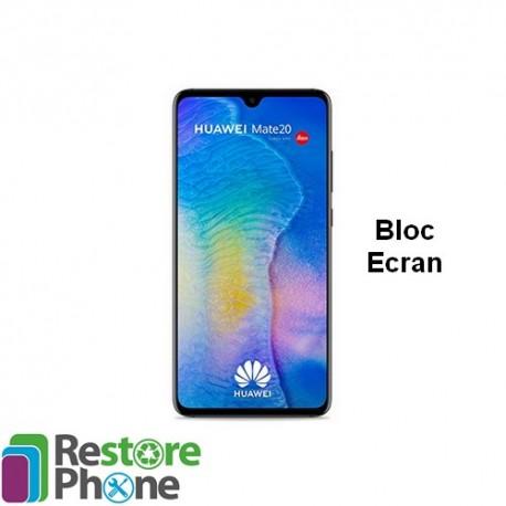 Reparation Bloc Ecran + chassis Huawei Mate 20
