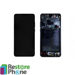 Bloc ecran avec chassis + batterie Huawei Mate 20
