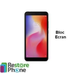 Reparation Bloc Ecran + chassis Xiaomi Redmi 6/6A