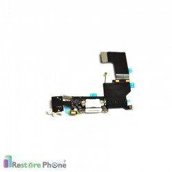 Nappe Connecteur de Charge + Micro + Antenne Iphone 5S