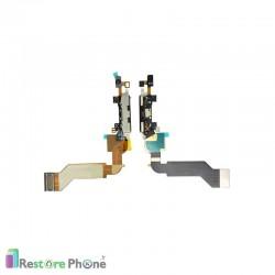 Nappe Connecteur de Charge + Micro Iphone 4S
