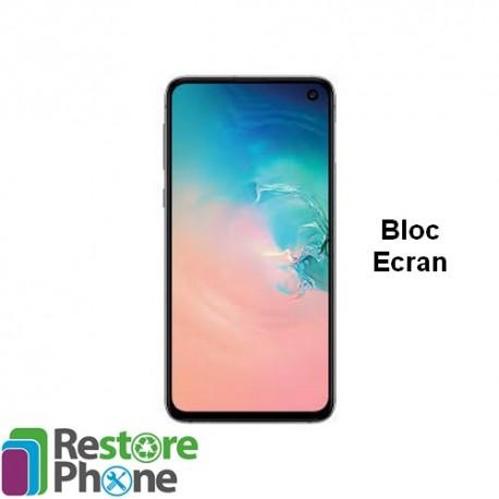 Reparation Bloc Ecran Galaxy S10e (G970)