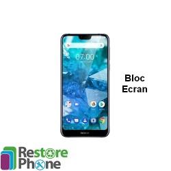 Reparation Bloc Ecran Nokia 7.1