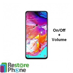 Reparation On Off Volume Galaxy A70 (A705)