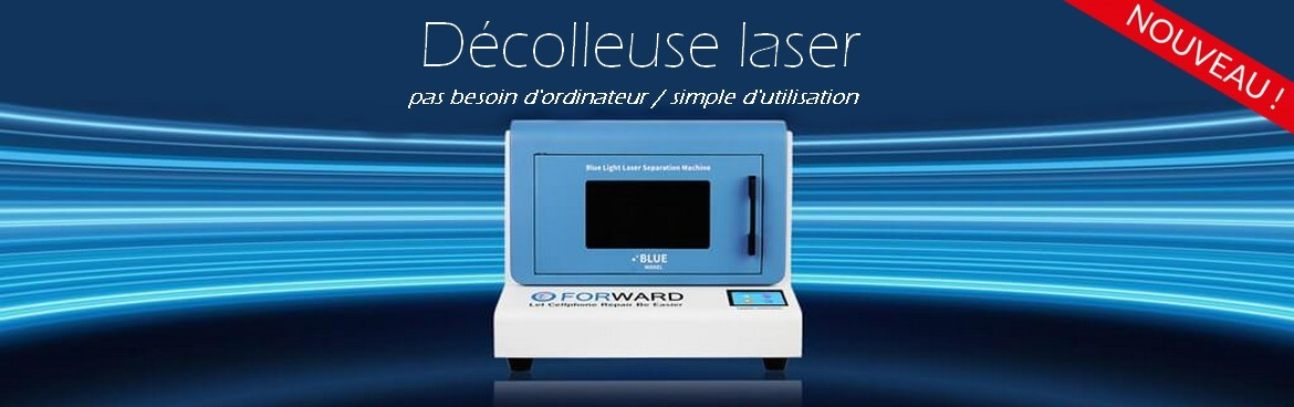 Decolleuse laser Forward