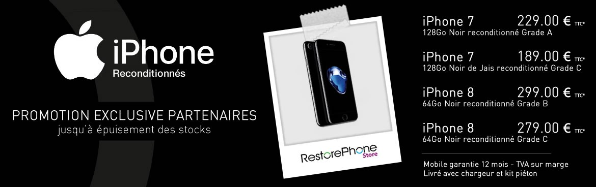 Apple iPhone reconditionné